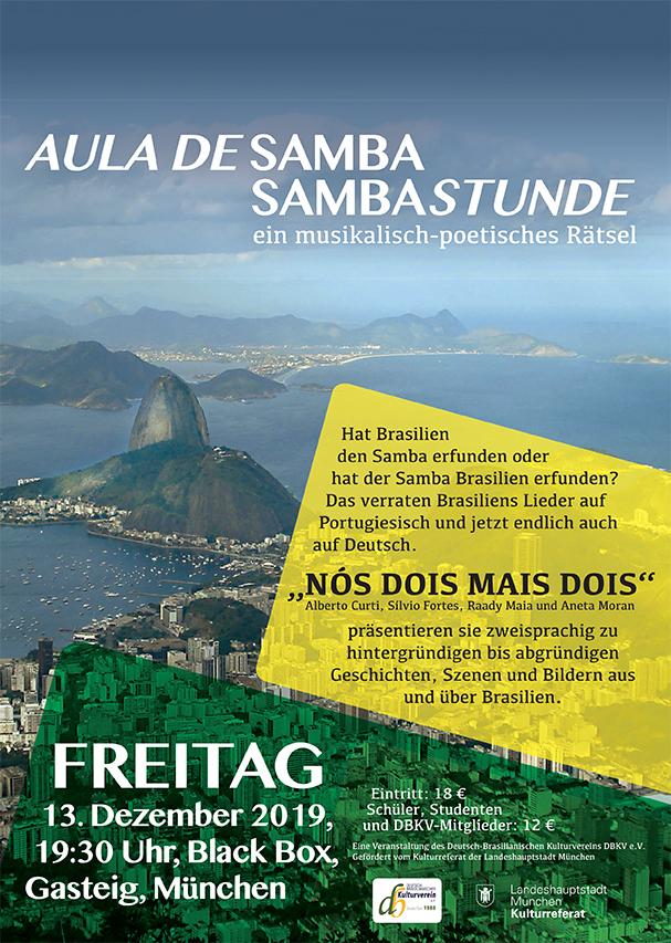 AULA DE SAMBA - SAMBASTUNDE @ Gasteig - Black Box